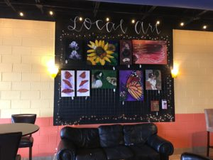 Art on Display at Angels Island Coffee @ Angels Island Coffee