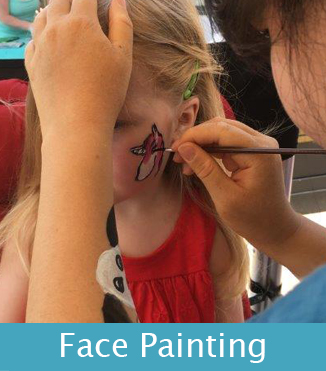 face painting box