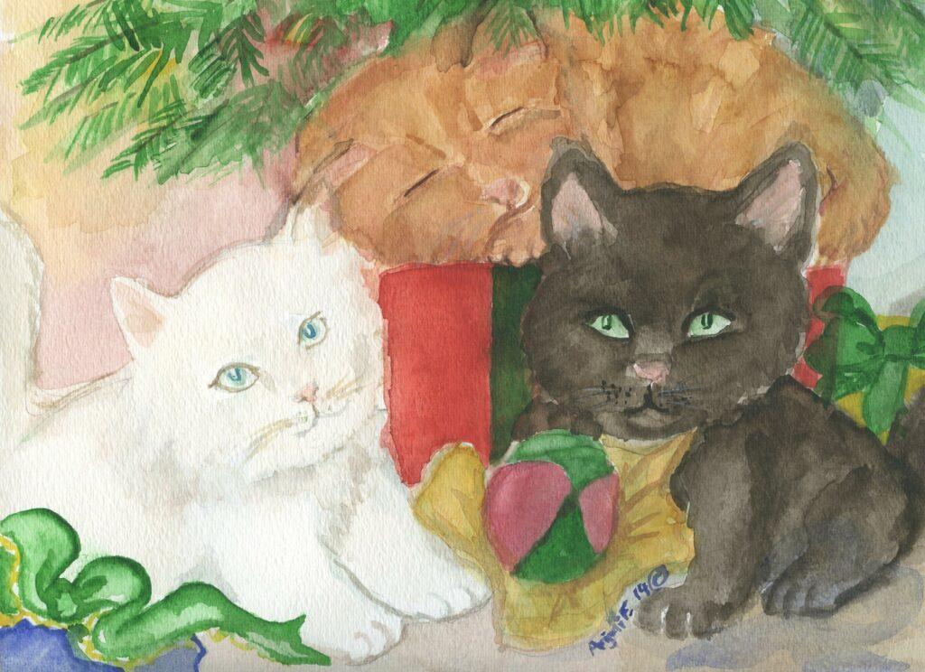 kittens chr tree011